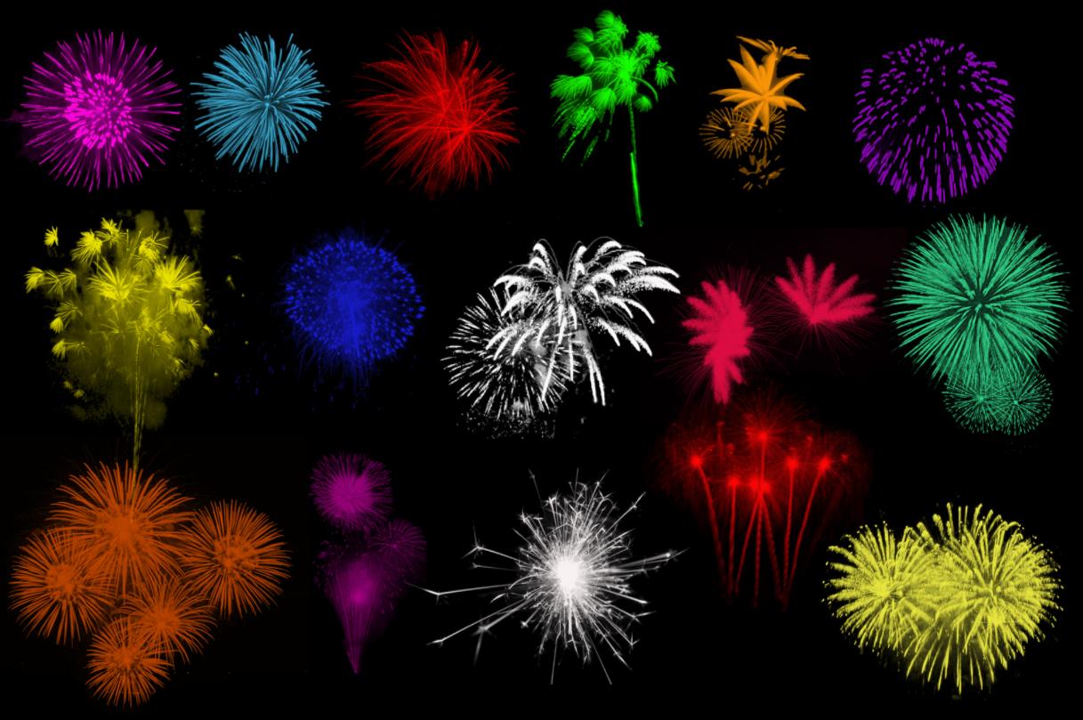Brushes - Fireworks