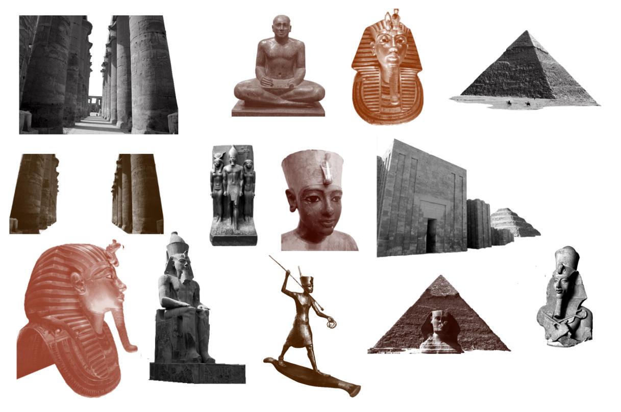 Brushes - Egypt by Immrgy
