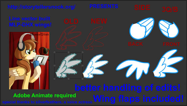 Adobe animate puppet rig add-on for mare Wings