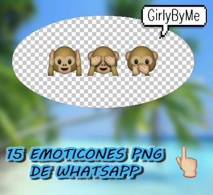 15 Emoticones Png de W... Whatsapp Emoticons
