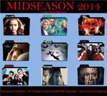 2014 Mid Season TV Series Folder Icons II Pack