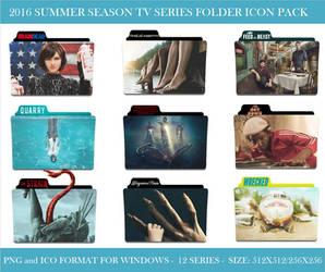2016 Summer Season (Tv Series Folder Icon Pack)