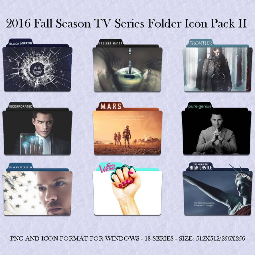 2016 Fall Season TV Series Folder Icon Pack II by Llyr86 on