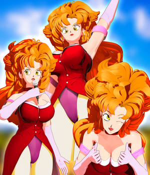 [DL] Miss Piiza from Dragon Ball Z 3D Model 2.9