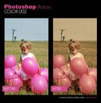 Photoshop Action - Color 002