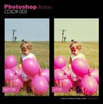 Photoshop Action - Color 003