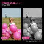 Photoshop Action - BW 003