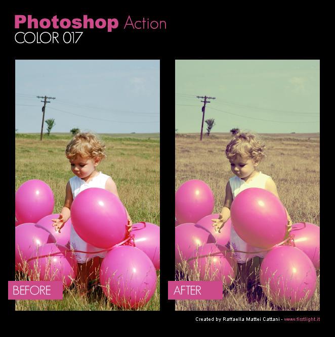 Photoshop Action - Color 017
