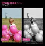 Photoshop Action - BW 006