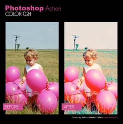 Photoshop Action - Color 024