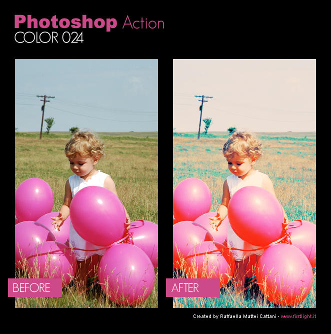 Photoshop Action - Color 024 by primaluce