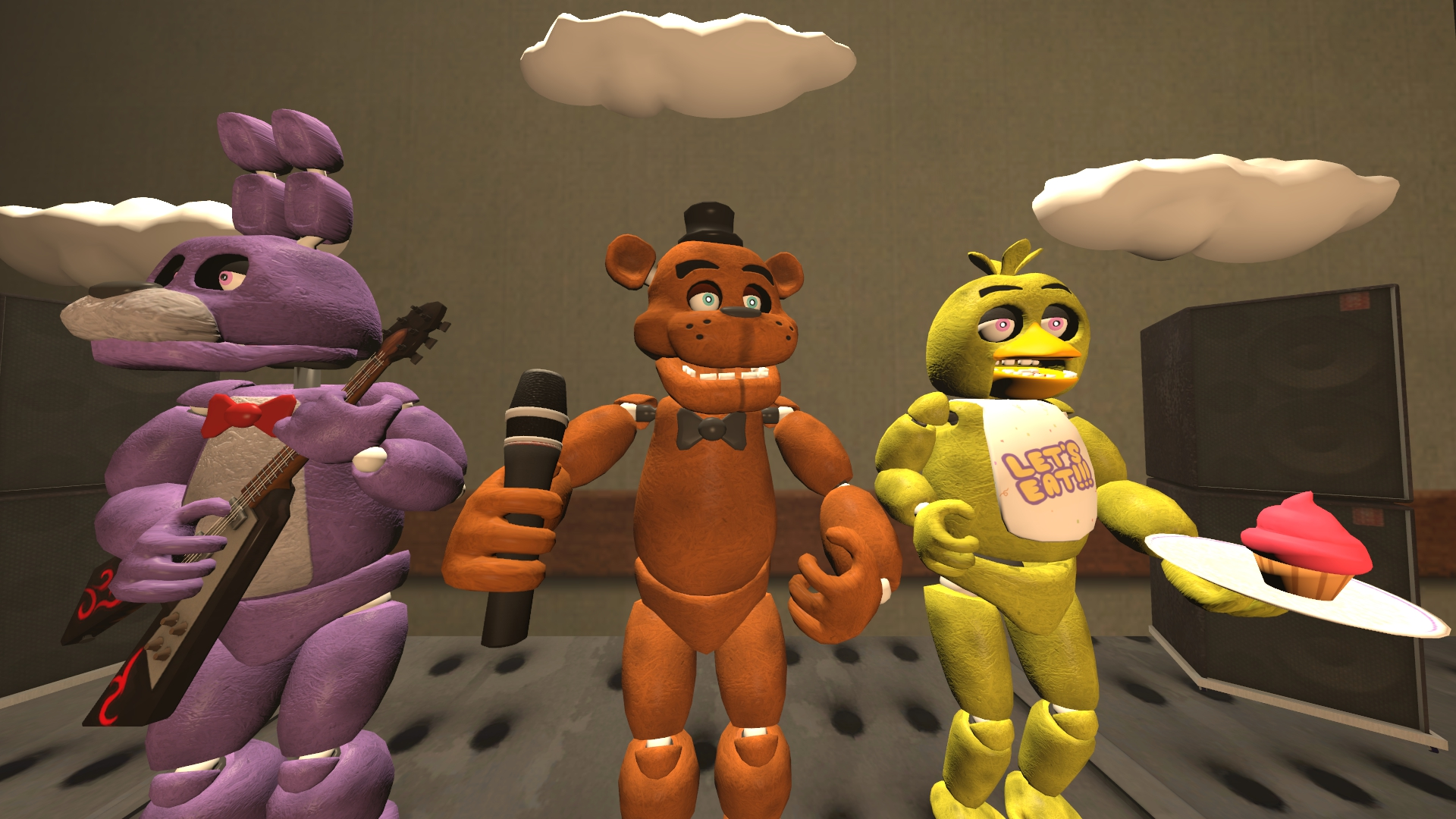 Download) Five nights at freddy's models by