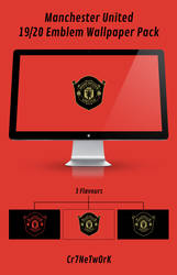 Man Utd 19-20 Emblem Wallpaper Pack