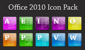 Glossy Office 2010 Icons