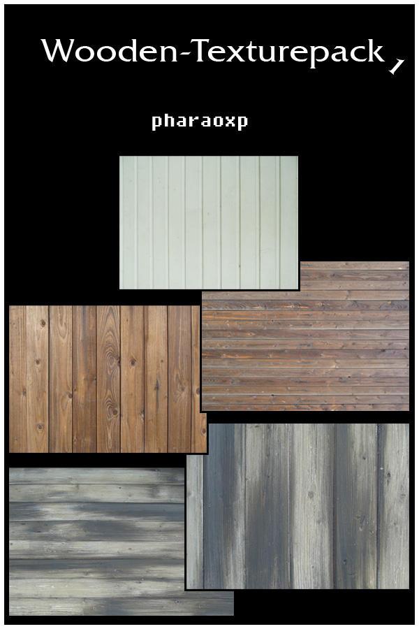 Wooden Texturepack 1 by pharaoxp