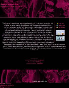 Pink Smoke Journal Skin
