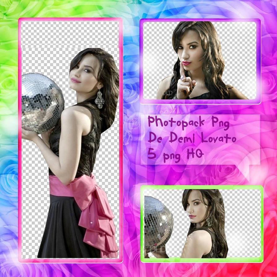 Photpack png de Demi Lovato by fandeselana