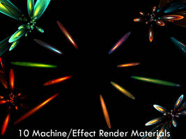 10 C4D Effect Machine Material by magicgfx