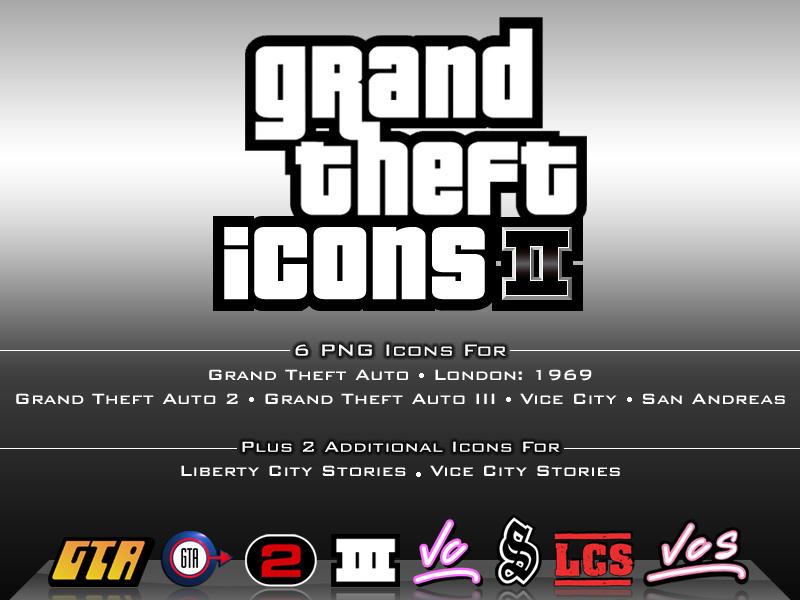 Grand Theft Icons II by SlimTrashman