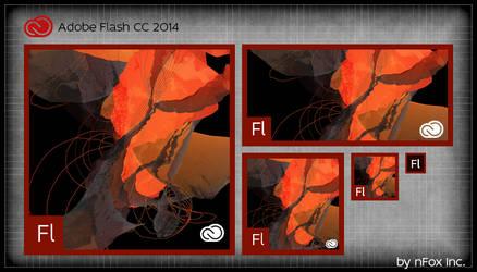 Adobe Flash CC 2014 tile by nfox25