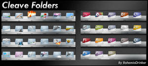 Cleave Folders by bohemiadrinker