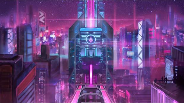 Vanguard HQ (animated)