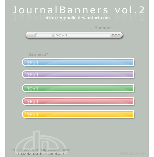 JournalBanners vol.2