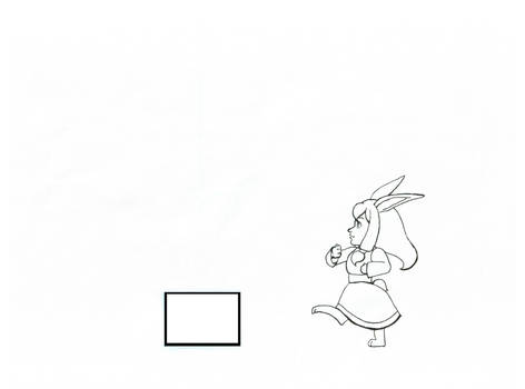 Lucy the Bunny- Kick Sequence