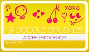 19 doodle brushes