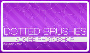 dotted brushes