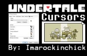 Undertale Cursors by PhobiasWorld101