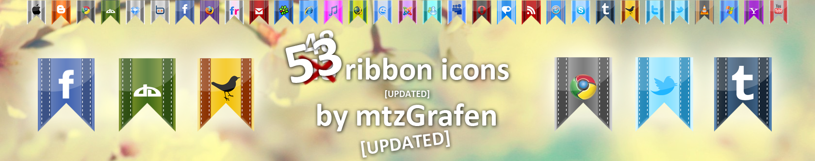 Ribbon Icon Pack by mtzGrafen