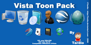 Vista Toon Pack by Tardio