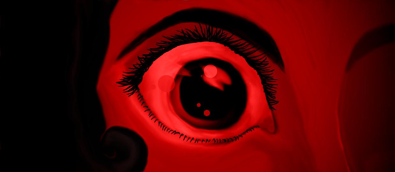 The eye of anxiety by megsamirafauth
