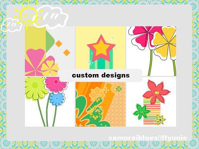 custom designs by ffyunie