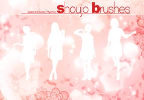 shoujo brushes by ffyunie