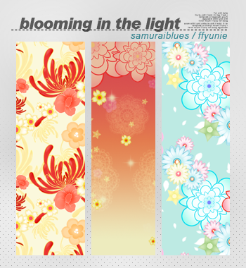 blooming in the light