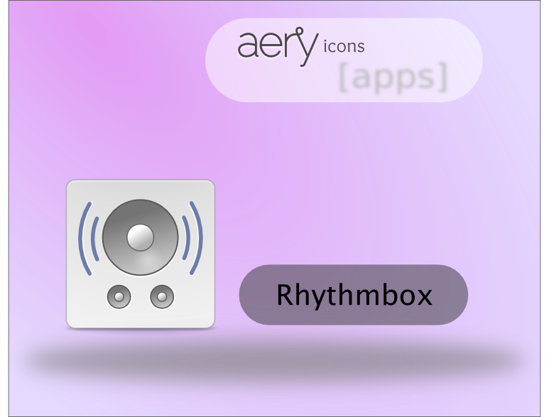 Rhythmbox Icon (Eary Icons) by rhoconlinux