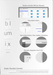 | Blumix | [minimal Gtk3.10 theme] (updated 1.2)