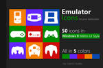 UPDATED! 50 Emulator Icons / Tiles for Windows 8!