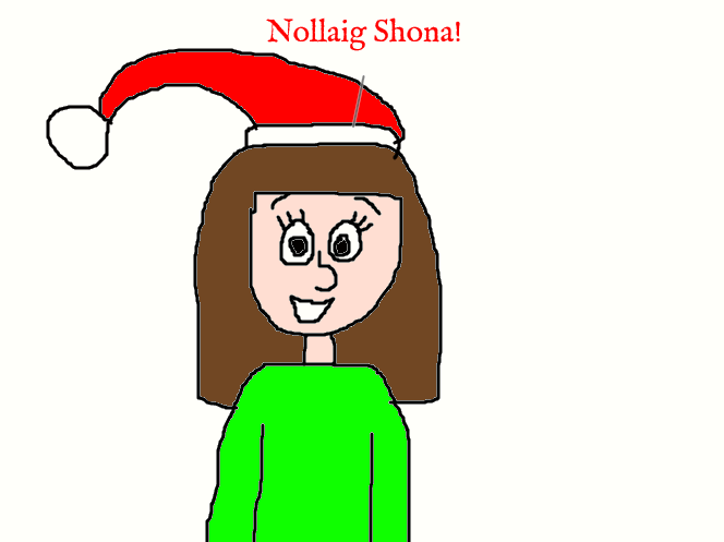 Mikaila Saying \'\'Merry Christmas\'\' in Irish by MikeJEddyNSGamer89 on ...