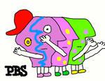 The PBS P-Pals Logo (1993-1999)