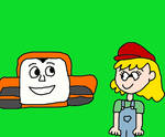 Lana Loud Meeting Terence the Tractor