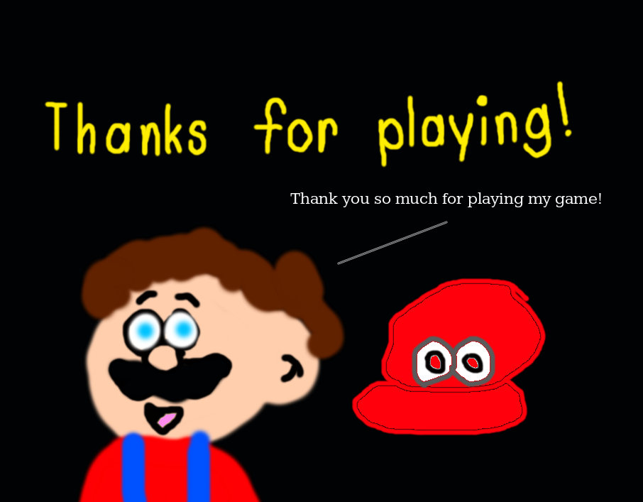 Thanks For Playing Super Mario Odyssey By Mjegameandcomicfan89 On