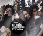 psd   straight smile    by Alternxtive