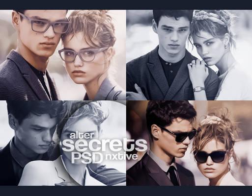 psd | secrets || by Alternxtive