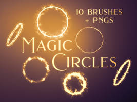Magic Circles Photoshop Brushes and PNGs