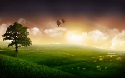 Balloon Ride III by nuaHs