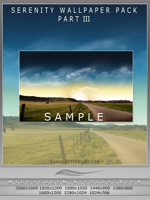 Serenity - Wallpaper Pack Pt3