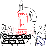 Character Animation and Lip Synch Test by MAJORA64